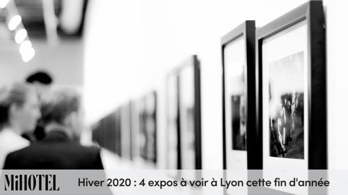 Hiver 2020 : 4 expos à voir à Lyon cette fin d'année