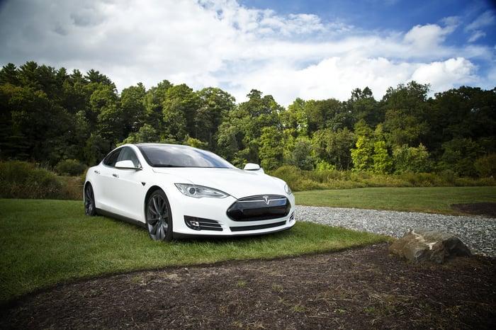 service voiturier Tesla