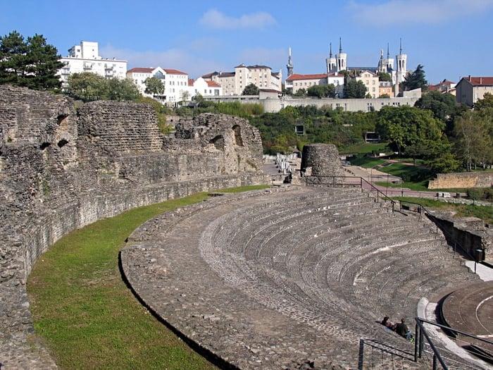 vestiges gallo romains lyon