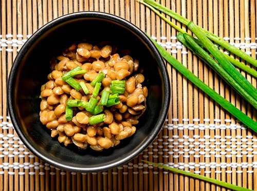 Natto - a traditional soy-based Asian dish