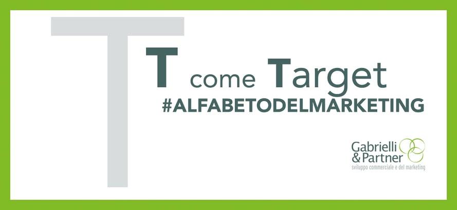 t come target alfabeto del marketing