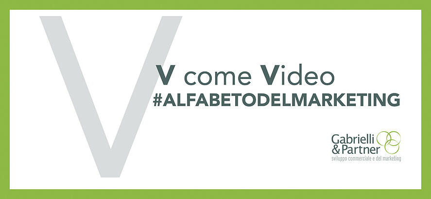 v come video alfabeto del marketing