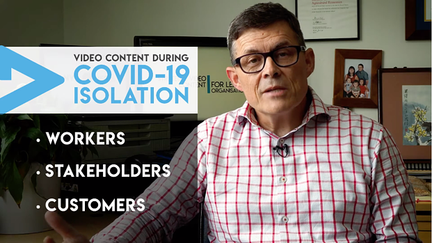 Keep communicating with your worker, stakeholder, customers with video.
