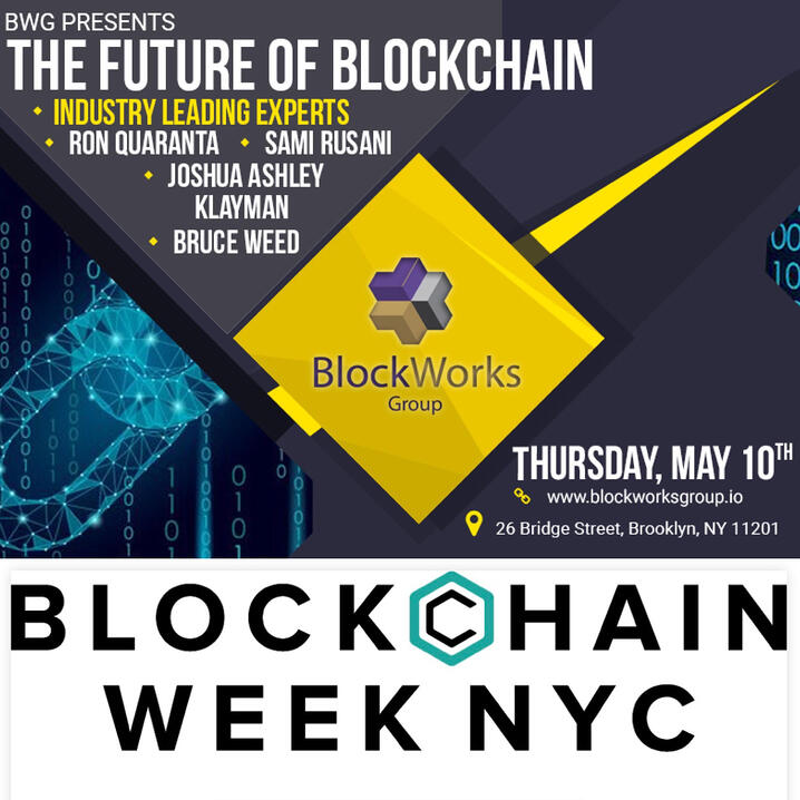 BWG Partners with CoinDesk to Open Blockchain Week