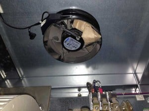Inverter fan repair