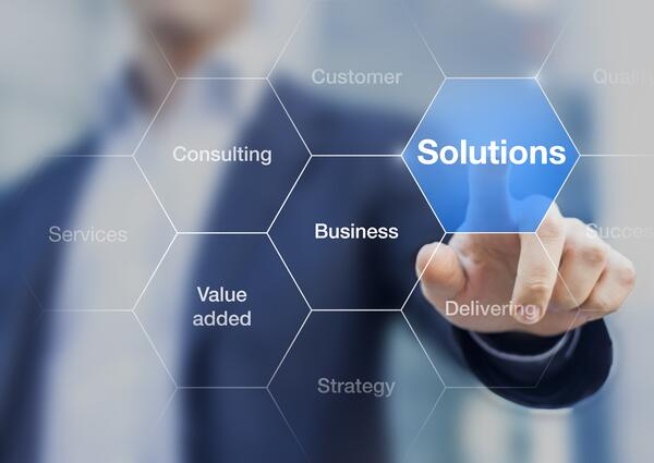 Business-consultant-presenting-solutions