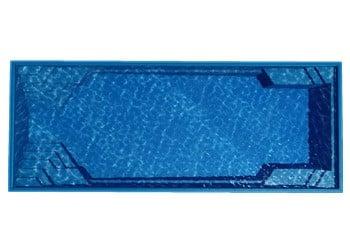 The Whitsunday Fiberglass Pool Model