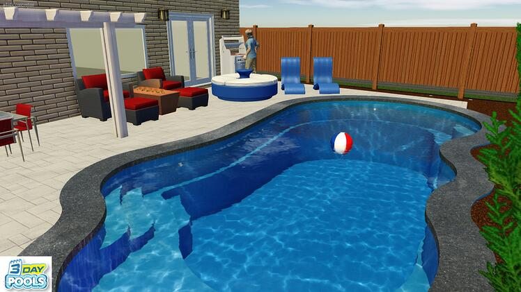 Imagine Pools - Fantasy Family Fun Pool in Oakville