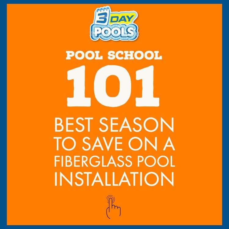 Best Season To Save On Pool Installation