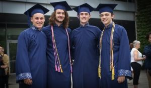 Concordia students excited to graduate after discovering they have all of the requirements to study in the U.S.