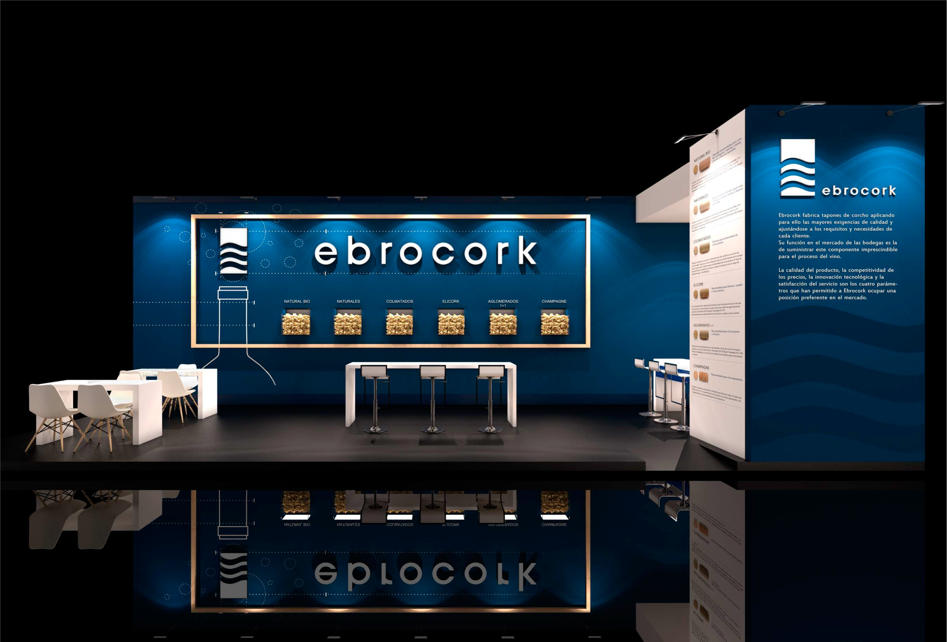 Frontal Stand EBROCORK