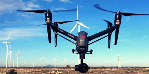 Drones y robots para impulsar el despliegue de energías renovables en España