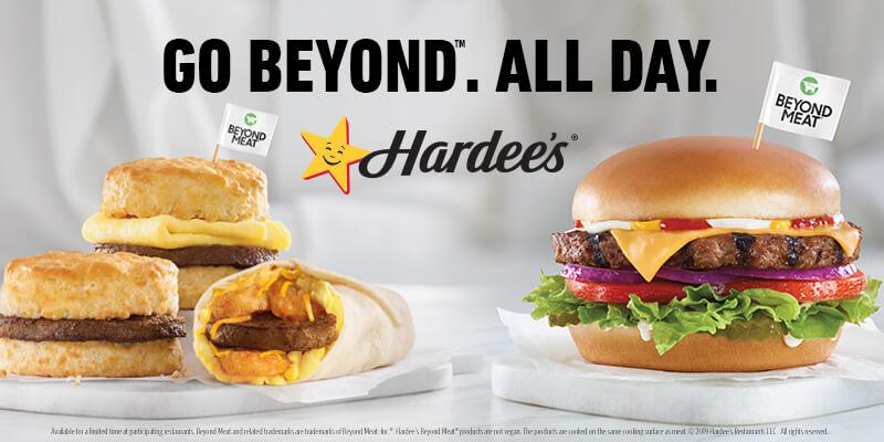 Hardees Beyond Meat Menu