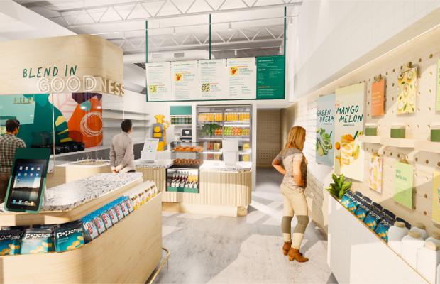 Jamba store interior