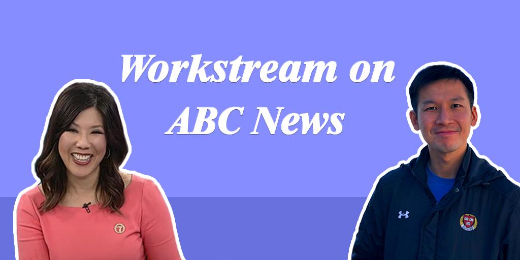 Workstream founder Desmond Lim on ABC7 News