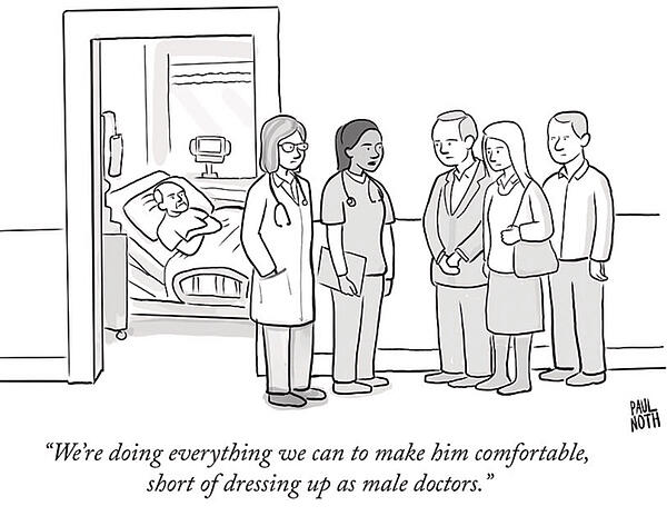 New Yorker Cartoon Nursing Assisted Living Doctors Workstream