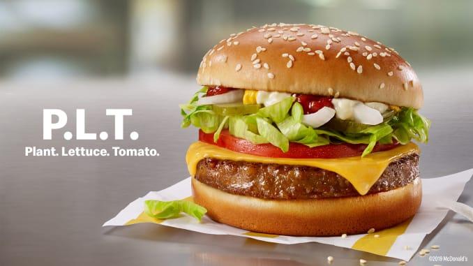 mcdonalds plant burger
