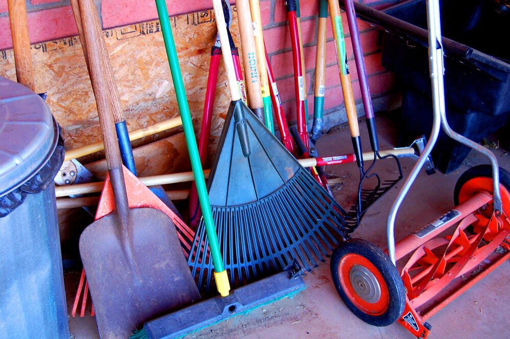 How to Store and Care For Your Lawn Care Tools