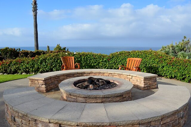 Decorative Stone and Fire Pit Options