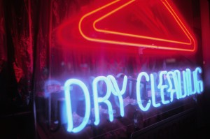 Dry Cleaning - Neon Sign