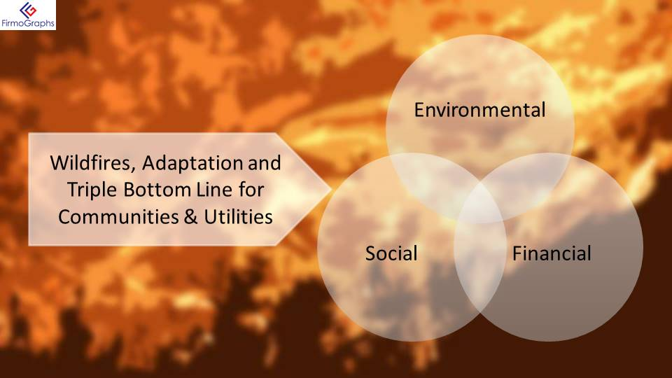 Wildfires, Adaptation, and the Triple Bottom Line for Communities and Utilities
