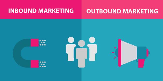 5 Diferencias entre el Inbound Marketing y el Outbound Marketing