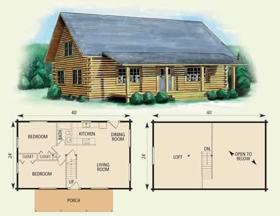 20 x 20 cabin plans loft plans diy free download rabbit for Cabin design software free download