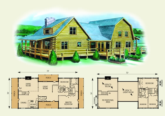 16 X 24 Log Cabin Plans Plans DIY Free Download studio