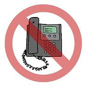 No telemarketing