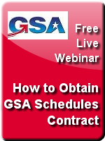 how to obtain gsa contract webinar