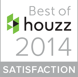 best of houzz 2014 award for customer satisfaction