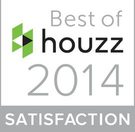 best of houzz 2014 award for customer satisfaction