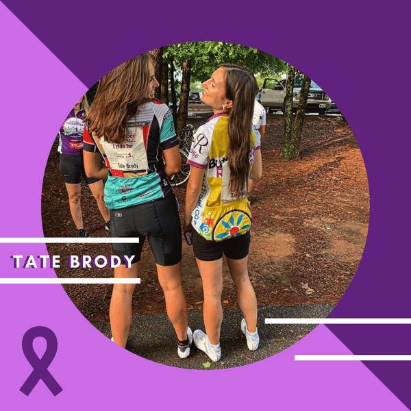 Tate Brody #CureALZ Story