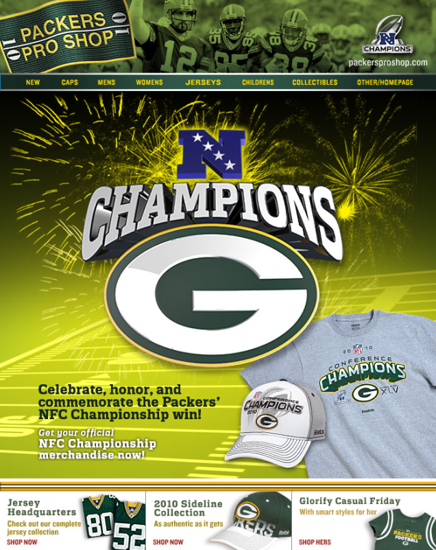 Digital Sampling, DAM, Green Bay Packers, NFC Champs and Hot