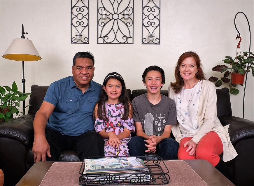 the moya family loves their foster children, even though they know it's not permanent