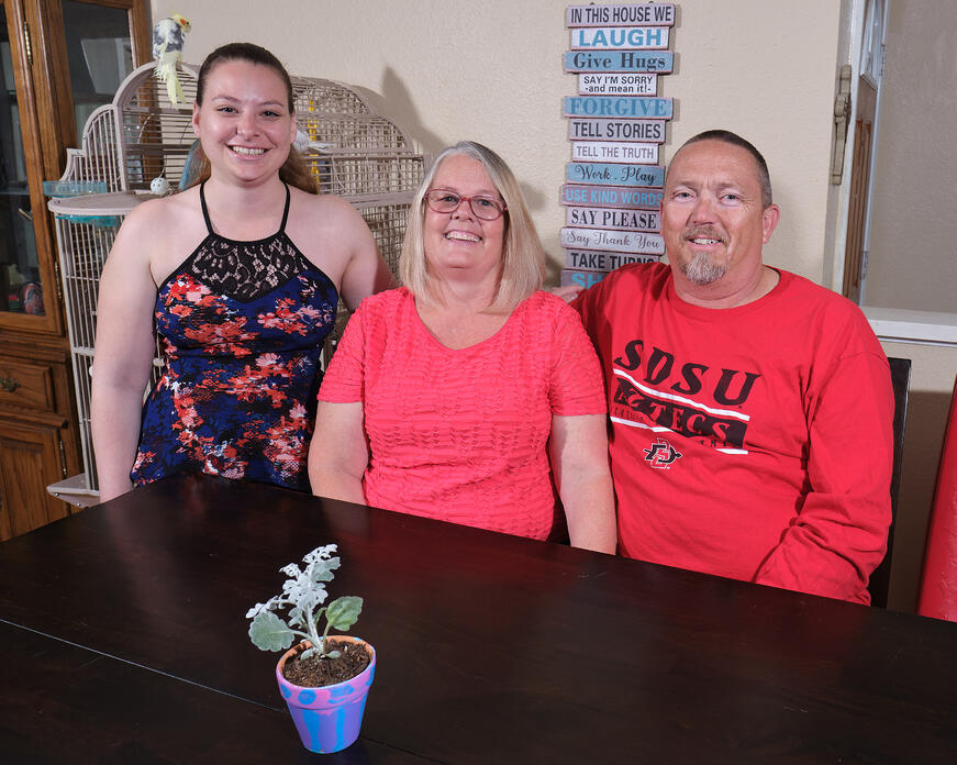 consistency is the key to this family's fostering success