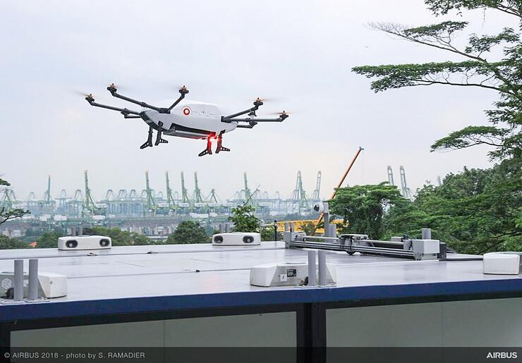 airbus skyways drones