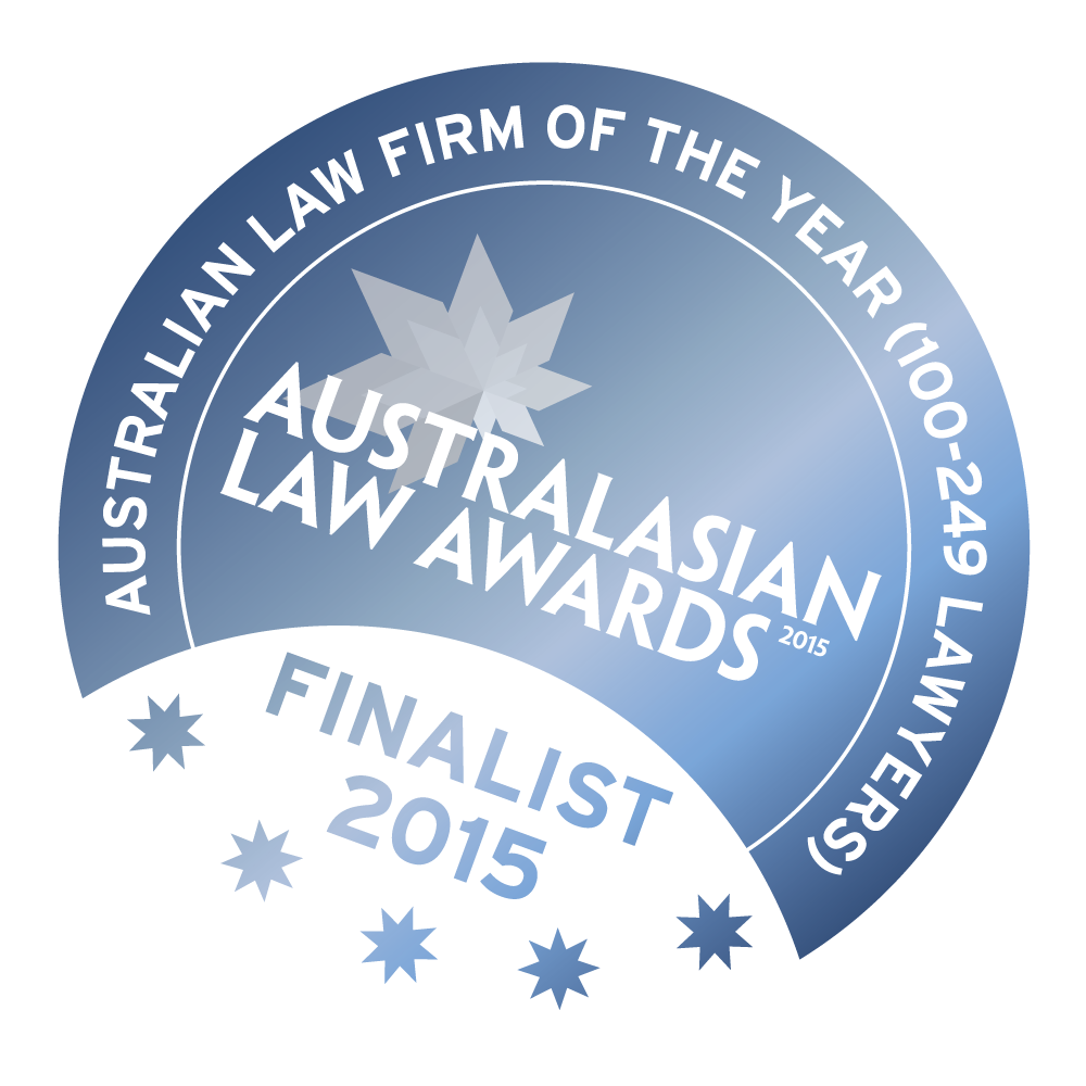 Australian Law Firm of the Year 2015 Finalists