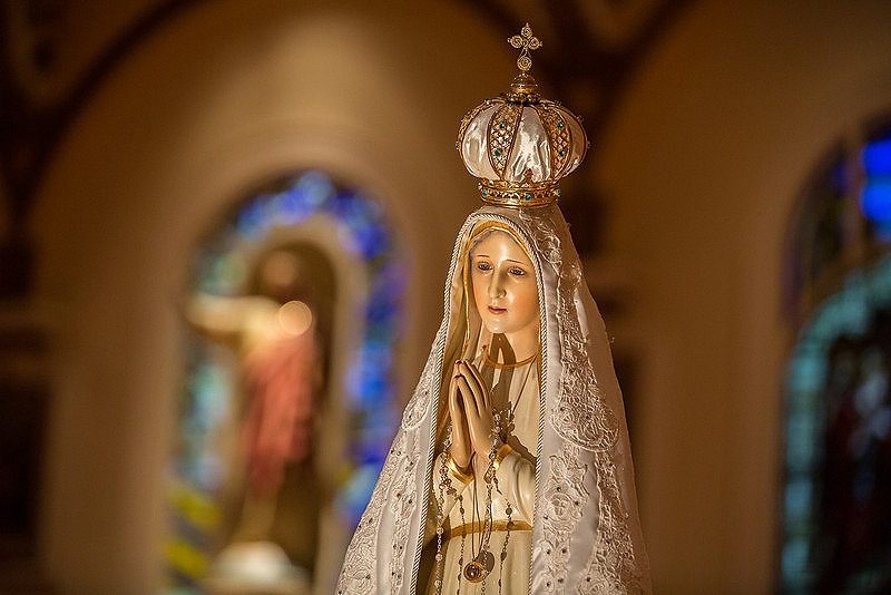 Our Lady of Fatima: Pray for us!