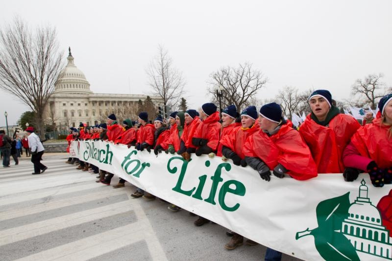 March for Life: Image by Catholic News Service