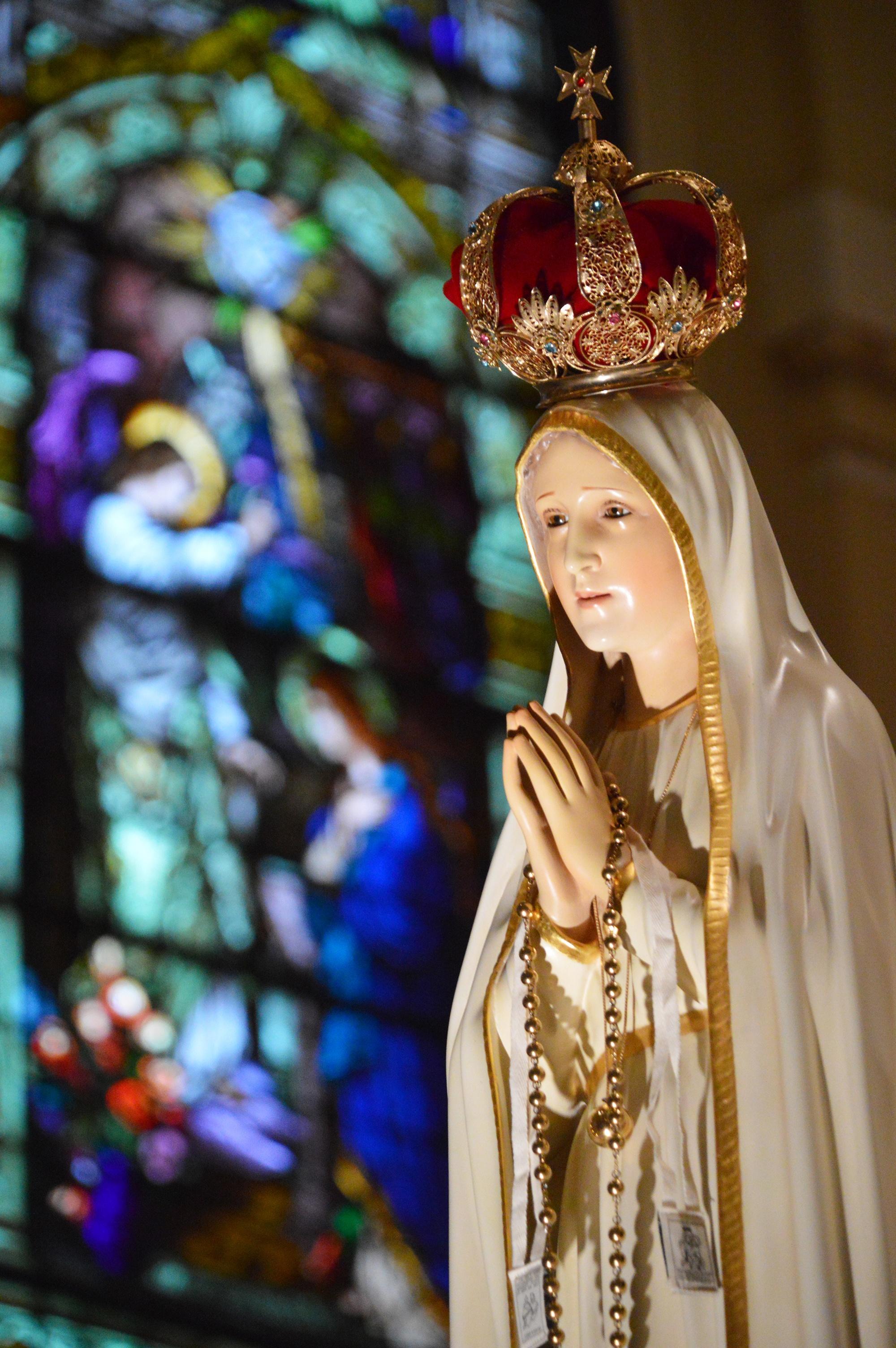 Our Lady of Fatima: Photo: CNS