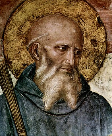 Saint Benedict: Pray for us! | Image: Wikimedia Commons