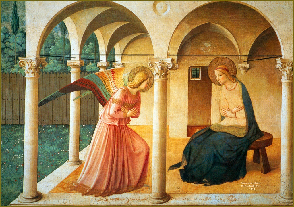Through the Anunciation, Mary was given a key role in our salvation. Image: Flickr
