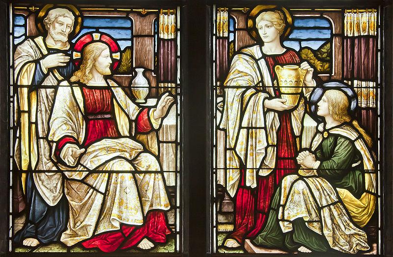 Martha, Mary, and Jesus | Image: Wikimedia Commons/Dcastor