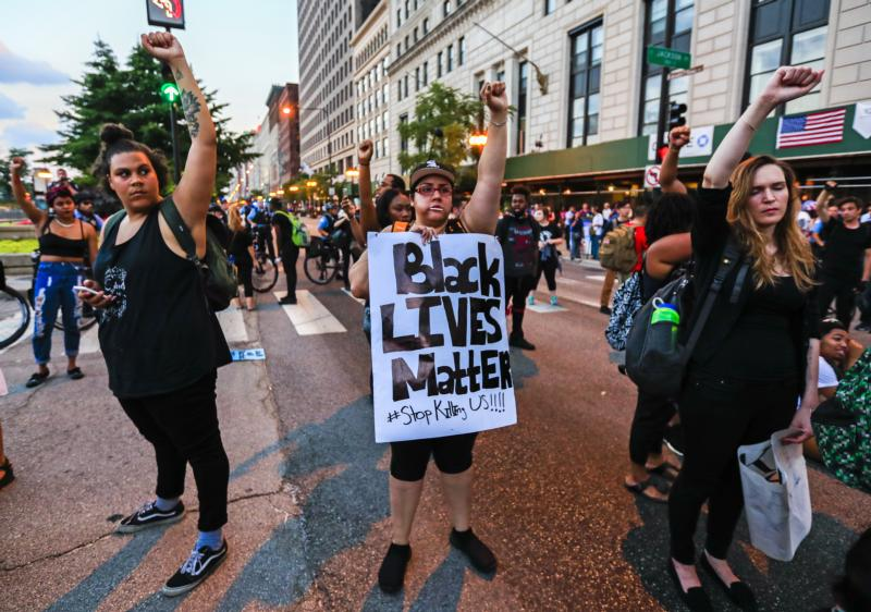Black Lives Matter: Photo: CNS photo/Tannen Maury, EPA