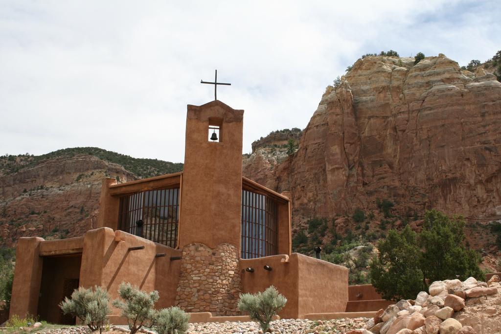 Christ in the Desert Monastery, via Flickr user wordcat57