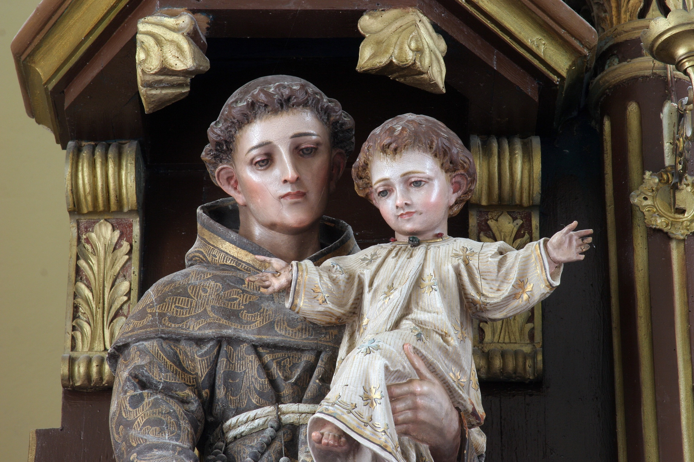 Saint Anthony: Pray for us! Photo: csp_zatletic