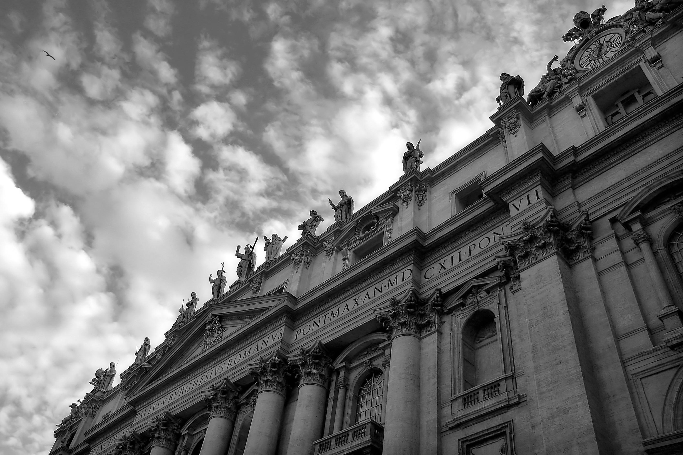 The Vatican   Image: rglinsky fotosearch.com