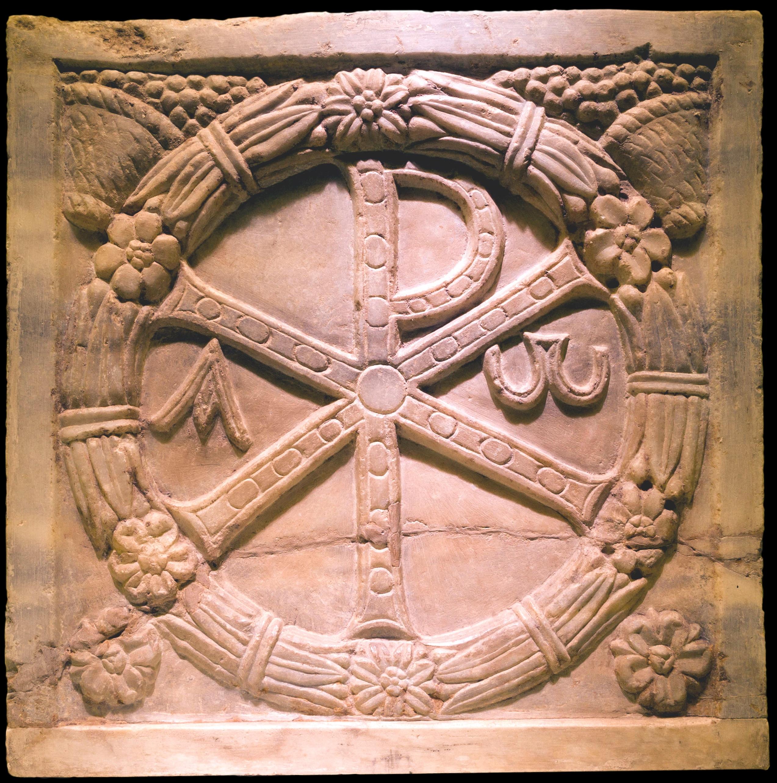Fourth Century Chi Rho via Wikipedia.jpg