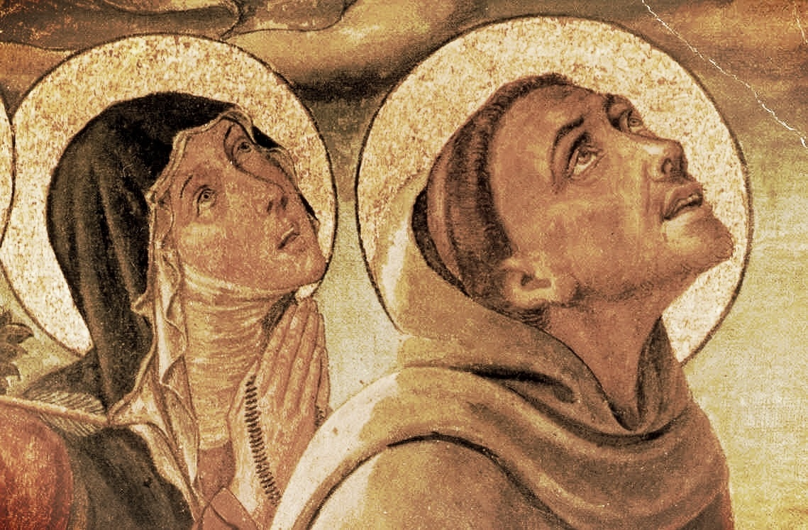 Saints Francis and Clare: Pray for us!